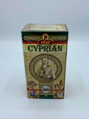 Cypriánová apothéka - BIO CYPRIÁN, bylinný čaj 40g
