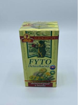 Karpatský Fyto čaj - detoxikačný, z čistých karpatských bylín 40g