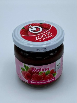 100% ovocný džem - malina