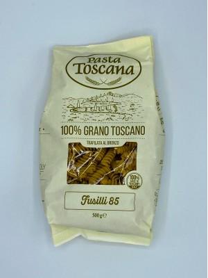Cestoviny semolínové Pasta Toscana Fusilli 85, 500g