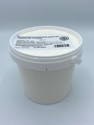 Gazdovský prírodný biely jogurt 12% 1kg