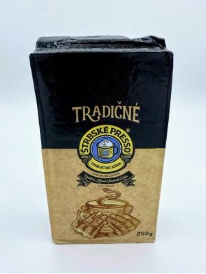 Káva mletá ŠTRBSKÉ PRESSO – Tradičné, Siesta 0/100 250g