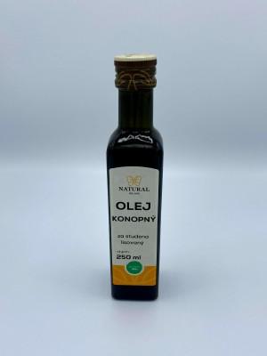 Konopný olej Natural 250ml