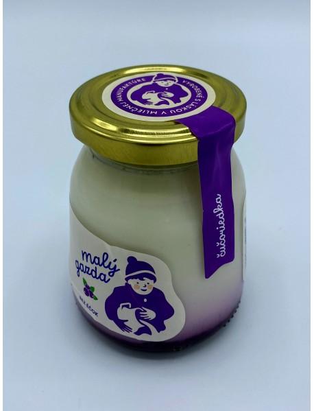 Jogurt bez éčok čučoriedka 200g