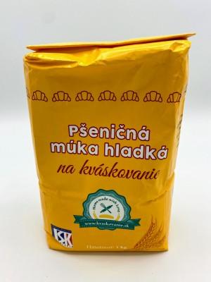 Pšeničná múka hladká na kváskovanie 1kg