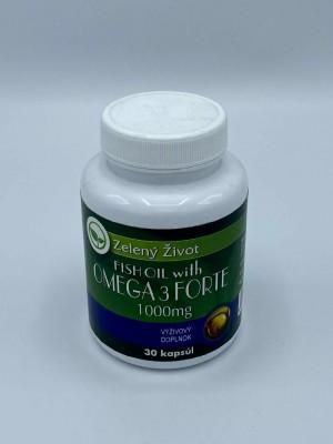 Rybí olej s Omega-3 Forte 1000mg 30 kapsúl