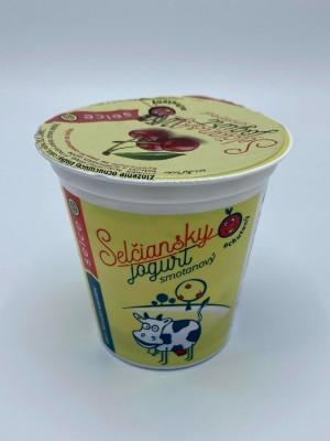 Selčiansky smotanový jogurt - višňa 150g