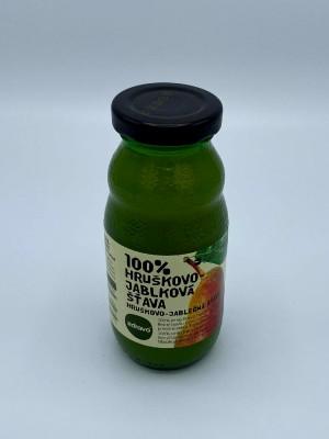 100% Hruškovo – jablková šťava 0,2l
