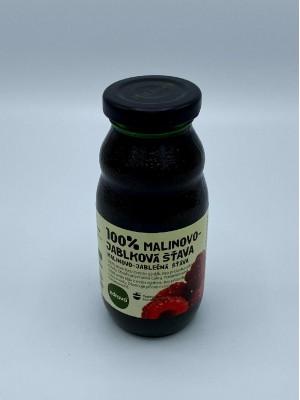 100% Malinovo – jablková šťava 0,2l