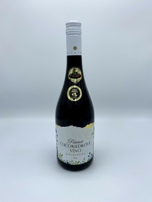 Čučoriedkové víno 0,75l