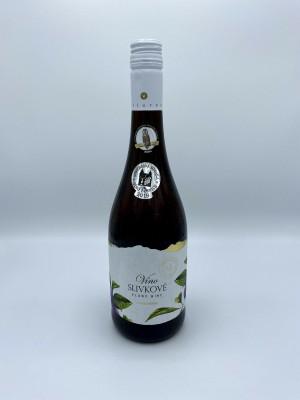 Slivkové víno 0,75l